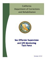 Sex Offender Supervision and GPS Monitoring Task Force
