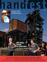 die toten hosen im interview - Handfest-Online