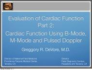 Cardiac Function Using B-Mode, M-Mode and ... - Cmebyplaza.com