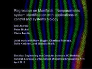 Slides (pdf) - LCCC - Lund Center for Control of Complex ...