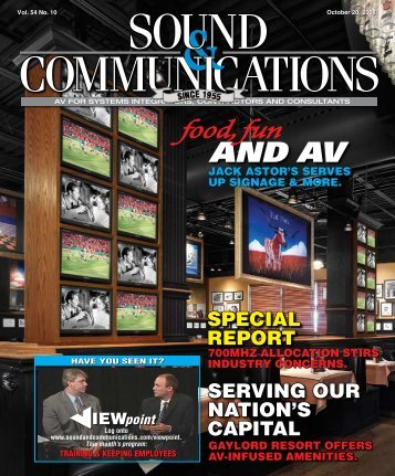 Sound & Communications October 20, 2008 Issue