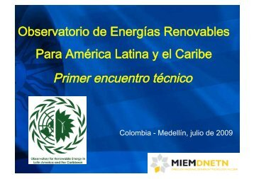 Uruguay - Observatory for Renewable Energy in Latin America and