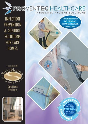 infection prevention & control solutions for care homes - Shackletons