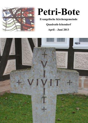 Ausgabe 2/2013 - evangelisch-in-qi.de