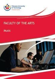 Music - Tshwane University of Technology