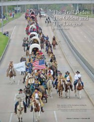 The Trail Rides: The Oldest and The Longest - Houston History ...