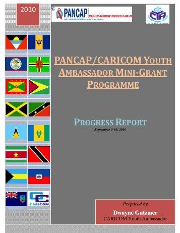 PANCAP/CARICOM Youth Ambassador Mini-Grant Programme