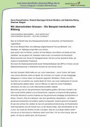 29 KB, Format: PDF - Besondere Kinder - besondere Wege