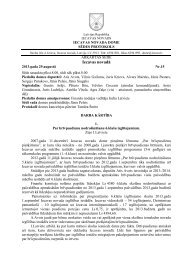 29.08.2013 Domes ārkārtas sēdes protokols Nr.15 - Iecavas novads