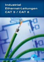 industrial ethernet leitungen cat 5 - Handling