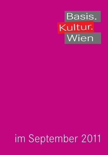 September - Basis.Kultur.Wien