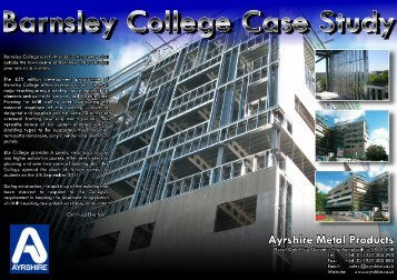 Barnsley College Case Study