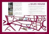 City centre - St Giles House Hotel