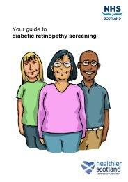 Your guide to diabetic retinopathy screening - NHS Lanarkshire