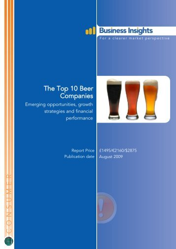 The Top 10 Beer Companies: Emerging ... - Business Insights