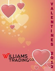 V A L E N T I N E S 2 0 1 2 - Williams Trading