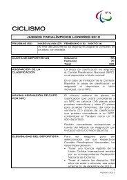 Descarga Criterios de Clasificacion IPC Ciclismo - Comité ...