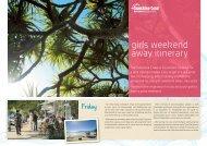 girls weekend away itinerary - Queensland Holidays