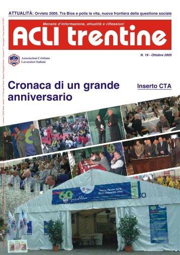 Acli Trentine OTTOBRE 2005