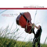 Broschüre 2009_HU a.ai - Joseph Haydn Konservatorium