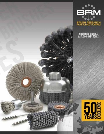 Industrial brushes - Brush Research Manufacturing
