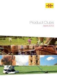 Product Clubs - Agència Catalana de Turisme
