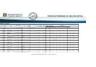 PERSONAL DE PLANTA - Transparencia Municipal - Municipalidad ...