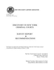 discovery in new york criminal courts survey report