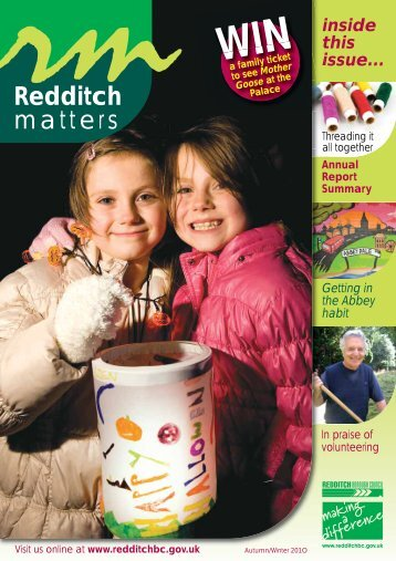 Redditch matters - Redditch Borough Council - Worcestershire Hub