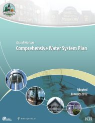 Comprehensive Water System Plan - City of Moscow
