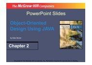 PowerPoint Slides Object-Oriented Design Using ... - Staff.kmutt.ac.th