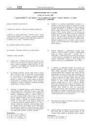 NAŘÍZENÍ KOMISE (ES) č. 875/2007 ze dne 24 ... - EUR-Lex