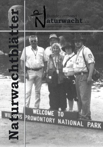 2003 - Bundesverband Naturwacht eV