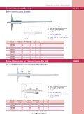 Tiefenmaß und Einbau-Messschieber Depth caliper, Digital scale unit - Seite 3