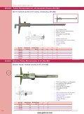 Tiefenmaß und Einbau-Messschieber Depth caliper, Digital scale unit - Seite 6