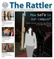 The Rattler February 4, 2009 v. 96 #7 - St. Mary's University