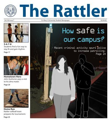 The Rattler February 4, 2009 v. 96 #7 - St. Mary's University