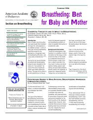 Congenital Tongue-Tie and Its Impact on Breastfeeding - New ...