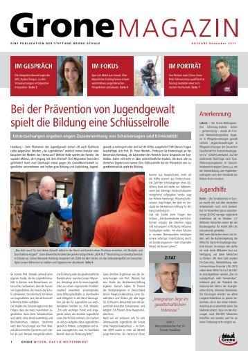 VOR ORT - Stiftung Grone-Schule
