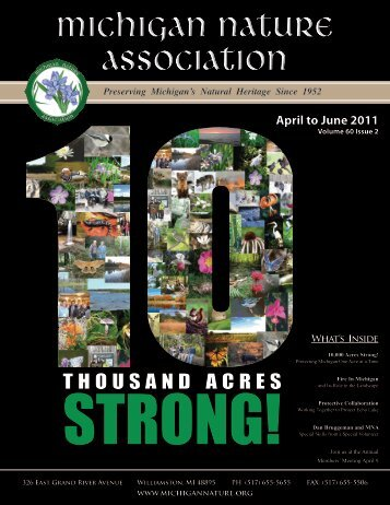 THOUSAND ACRES - The Michigan Nature Association