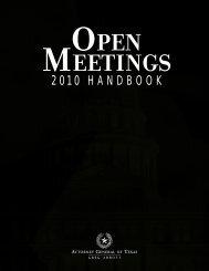 Openmeeting Handbook.pdf 1192KB Jun 06 2011 - City Of Clute ...