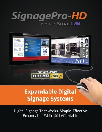 Signage Pro HD - SmartAVI