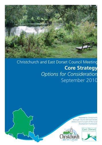 Core Strategy Options - Dorsetforyou.com