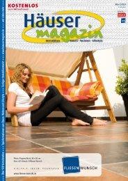 Häusermagazin Februar 2009