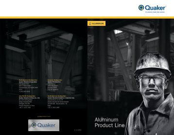 Aluminum Product Line - Quaker Chemical Corporation