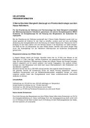 [PDF] Pressemitteilung: 5 Sterne Bio-Hotel Stanglwirt ... - PresseBox