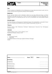 Torsion Physikalisches Praktikum M6..-1 Ziel: Methoden ... - hknoll.ch