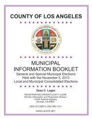 Cand. Handbook Map.cdr - Registrar-Recorder/County Clerk