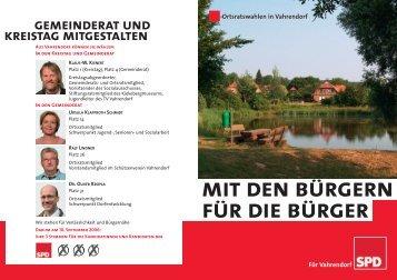 A5 Vahrendorf - SPD Rosengarten