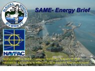 SAME- Energy Brief - SAME Seattle Post